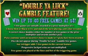 Double Ya Luck, Gamble Feature