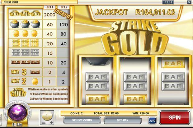 Rival Progressive Jackpot – Strike Gold
