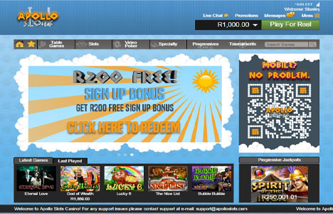 apollo slots casino mobile lobby