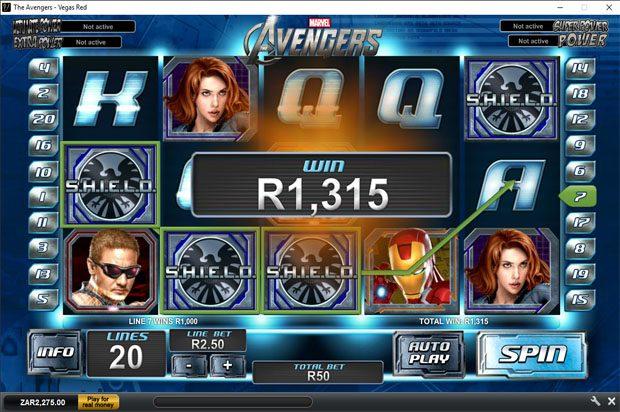 The Avengers: Based on the movie – Playtech Marvel Progressive Jackpot