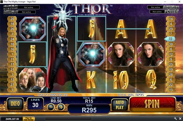 Thor: The Mighty Avenger- Playtech Marvel Progressive Jackpot