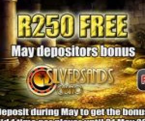 Silver Sands Casino May 2016 Promotion