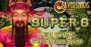 Super 6 New Slot - Get 50 Free Spins