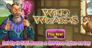 May Wid Wizards Free Spins and Bonus Promotion