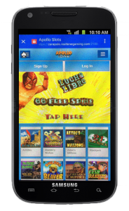 Apollo Slots Mobile Casino