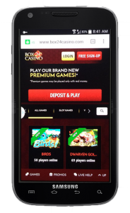 Box24 Mobile Casino