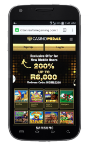 Casino Midas Mobile
