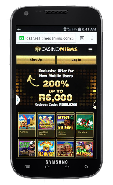 Casino Midas Mobile Slots