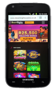 Desert Nights Mobile Casino