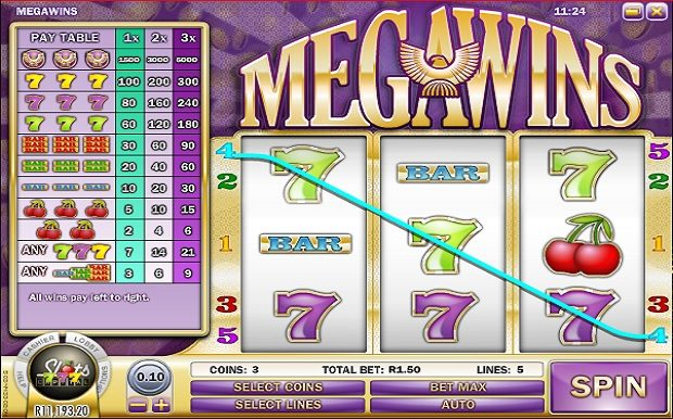 MegaWins Slot Machine - Play Free Rival Gaming Games Online