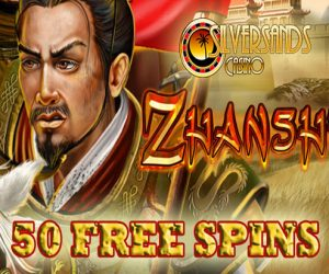 Zhanshi – New Slots promotion from Silver Sands Casino, get 50 Free spins!
