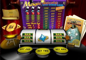 3 Reel 1 Payline Slot (Magic Slots)