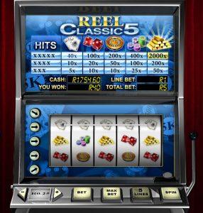 5 Reel 5 Payline Online Slot (Reel Classic 5)