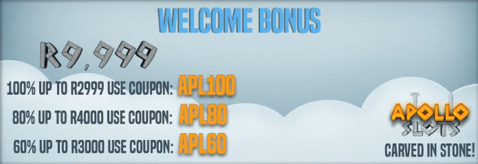 Apollo Slots Welcome Bonus