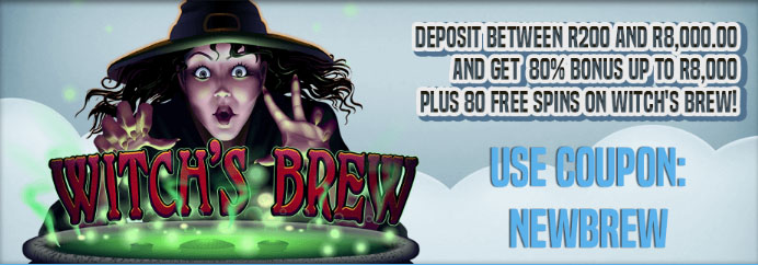Witch's Brew Bonus offer