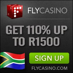 Fly Casino, play in ZAR Rands