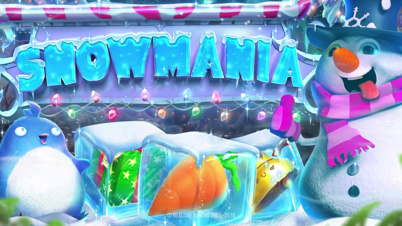 New Xmas slot - Snowmania! Get 50 Free Spins and Deposit Bonus at SilverSands Casino this Christmas