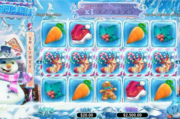 New slots for Xmas – Snowmania! Get 50 Free Spins and Deposit Bonus at Silver Sands Casino