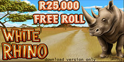White Rhino Slots Promotion