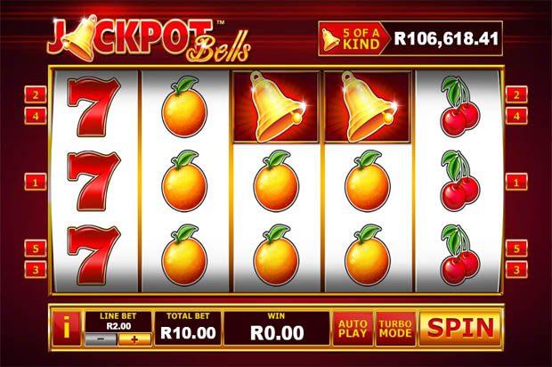 Jackpot Bells Progressive Jackpot Slot