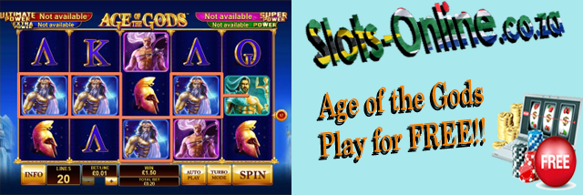 Play Age of the Gods slot for Free