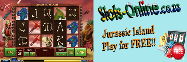 Play Jurassic Island slot for Free