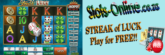 Play Streak of Luck slot for Free